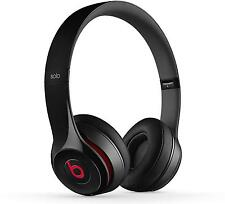 Beats Solo2 Headphones Gloss Black - Genuine Beats By Dre Headphones Retail