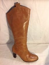 Florence+Fred Brown Knee High Leather Boots Size 4