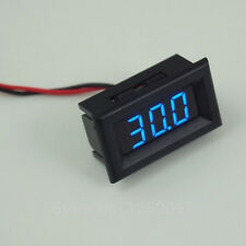 golf cart digital VOLTmeter dash mount - universal part - golf cart - 12v or 24v