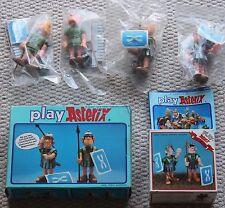 Vintage Asterix figuras de acción 6216 soldados romanos Plus en Caja Laurel Hardy