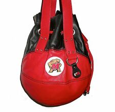 NEW r25 Maryland Terrapins NCAA BASKETBALL PURSE Red Team Logo Shoulder Bag