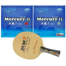 Pro Combo Racket, DHS POWER.G7 PG.7 PG7 blade with 2 x Galaxy Mercury II Rubbers