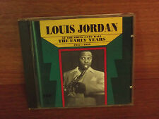 Louis Jordan At The Swing Cats Ball - The Early Years 1937-1939 : CD Album