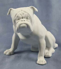 englische Bullgogge Figur hund dogge reichenbach porzellanfigur porzellan