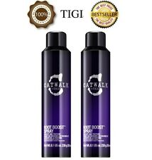 2 X OFFICIAL TIGI CATWALK ROOT BOOST LIFT AND TEXTURE SPRAY - 250ML