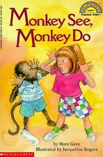 Schol Rdr Lvl 1: Monkey See, Monkey Do (Hello Reader)