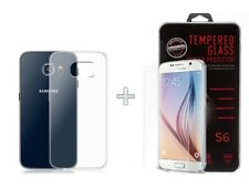 Chars film samsung Galaxy s6 Display Film protection vraiment verre h9 + Housse de protection