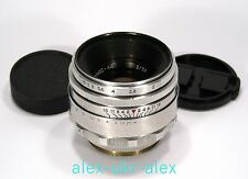 Rare Helios-44 lens 2/58 mm 13 blades adapted M42 mount.№0153829.Exc,CLA