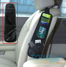 Car Seat Side Storage Organizer Net Phone Holder Mesh Pouch String Bag Hanging