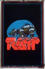 Ratt 23x35 Logo Blacklight Poster 1984 Robin Crosby