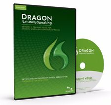 NUANCE Dragon Naturally Speaking 12 TRAINING VIDEO ✔NEW✔