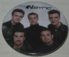 """NSYNC Tour Pin - Licensed Justin Timberlake 1.75"""""""
