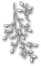 """MEMORY BOX 99317 """"Jolly Holly Branches"""" 100% Steel Craft Die"""