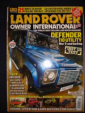 Land Rover Owner LRO # May 2007 - Bowler - Ambulance - Defender 110 utility