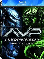 AVP UNRATED ALIEN VS PREDATOR AND REQUIEM 2 FILMS BLU RAY COMES WITH SLIPCOVER