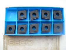9 Seco carbide inserts CNMG 16 06 12  P15/K15 ( CNMG160612 CNMG 16 06 12 )