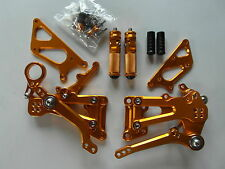 BMW S1000RR 10 11 12 13 14 Race-Europe Fußrastenanlage rear set xp gold