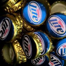 100 Miller Light Old Style Beer Bottle Caps Great For Crafts FREE SHIPPING