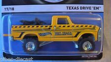 HOT WHEELS 2015 HERITAGE CASE E TEXAS DRIVE EM NEW RARE IN STOCK