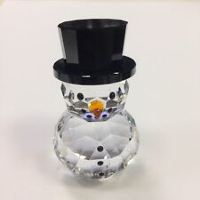 SWAROVSKI CRYSTAL SNOWMAN WITH HAT 5135852 .NEW IN BOX.