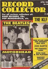 Record Collector Magazine No.140 April 1991 The Beatles, Motorhead, The KLF