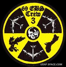 USAF 69th EXPEDITIONARY BOMB SQUADRON - CREW 3 - Minot AFB ORIGINAL VELCRO PATCH