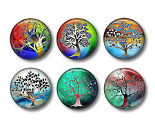Tree of Life Refrigerator Magnets Set of 6pcs - collection #2