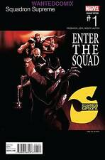 SQUADRON SUPREME #1 DEL MUNDO HIP HOP VARIANT COVER MARVEL COMIC BOOK NEW 2015 2