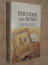 Theodore Sturgeon THUNDER AND ROSES Collected Stories Volume 4 IV 1st Edn USHC