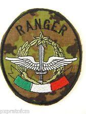 Patch Alpini Paracadutisti Ranger Mimetica Vegetato Esercito Italiano Toppa Mili