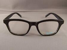 Black frame Clear lens sunglasses wayfarer womens ladies 80s style nerd glasses
