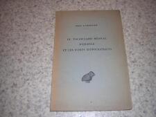 1935.vocabulaire médical d'Eschyle & écrits hippocratiques / Dumortier.médecine