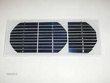 AUCTION TWO(2)Compact solar panel for charging 12 Vt. batteries 17 v X 80 mA ea.