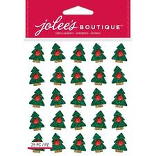 Jolee's CHRISTMAS TREES REPEATS Stickers
