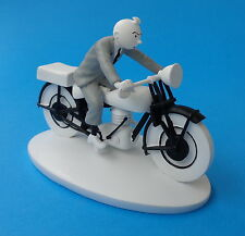 FIGURINE COLLECTION OFFICIELLE TINTIN HORS SERIE N°8 MOTARD + LIVRET NEUF
