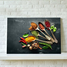 Unframed Canvas Print Home Decor Wall Art Poster Picture- Kitchen Flavors Decor