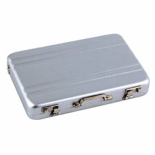 NF 1pc Cool Aluminum Briefcase Business Card Credit Card Holder Case Box