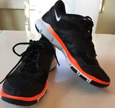 Nike Free TR 2 Running Shoes 442031-018 Men's Size 7.5 US Orange Black Re