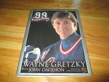 WAYNE GRETZKY 99 MY LIFE IN PICTURES Book John Davidson