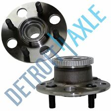 Pair: 2 New REAR 2001-05 Honda Civic ABS Complete Wheel Hub and Bearing Assembly
