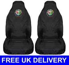 ALFA ROMEO CAR SEAT COVERS PROTECTORS WATERPROOF - 156 147 Guilietta Mito