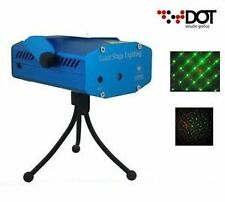 Mini Laser Stage lighting DJ Sound Activated Projector Light Diwali Disco Party