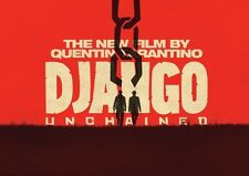 poster di Django Unchained poster rosso
