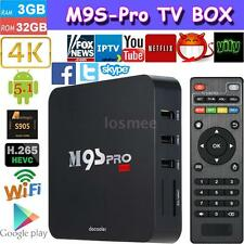 M9S-PRO Fully Loaded 3G/32G Android 5.1 S905 Quad Core TV BOX 4K Media