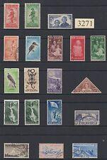 Nueva Zelanda (Oceanía) una selección de sellos usados temprano década de 1900 Fino-NZ3271