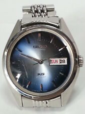 King Seiko 5626-7111 Blue Dial HI-BEAT Automatic VG