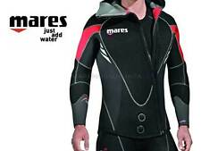 MUTA SUBACQUEA MARES DUAL 5mm TAGLIA 5-L  DIVE WETSUIT WITH ZIP
