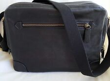 Coach Bleecker Flight Bag Leather Mens - Black with Brass - #F71373 -NWT $498