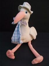 Russ Berrie BUNDLES Plush Stork Special Delivery Bear Stuffed Animal 15""