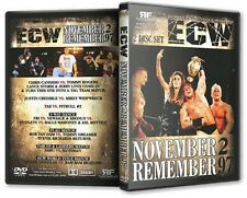 ECW Wrestling: November To Remember 1997 DVD, Bam Bam Bigelow Shane Douglas WWE